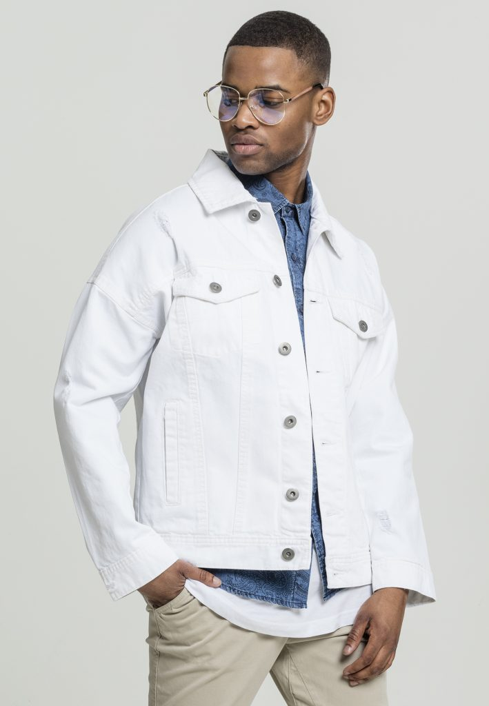 URBAN CLASSICS RIPPED DENIM Jacket