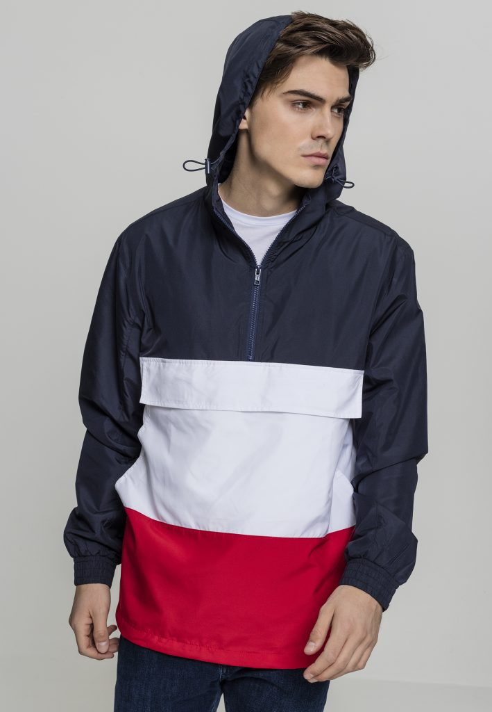 URBAN CLASSICS COLOR PULL Over Jacket